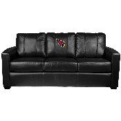 Silver Sofa with Arizona Cardinals