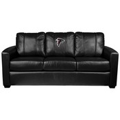 Silver Sofa with Atlanta Falcons