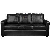 Silver Sofa with Baltimore Ravens