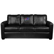 Silver Sofa with Buffalo Bills
