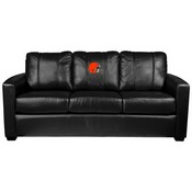 Silver Sofa with Cleveland Browns