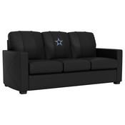 Silver Sofa with Dallas Cowboys