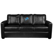 Silver Sofa with Detroit Lions