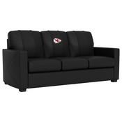 Silver Sofa with Kansas City Chiefs
