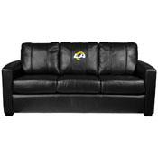 Silver Sofa with Los Angeles Rams