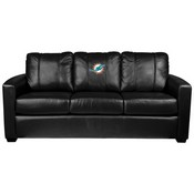 Silver Sofa with Miami Dolphins