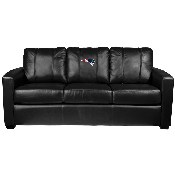 Silver Sofa with New England Patriots
