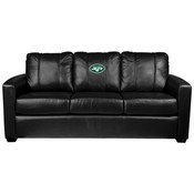 Silver Sofa with New York Jets