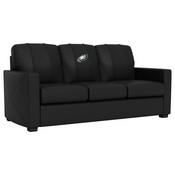 Silver Sofa with Philadelphia Eagles