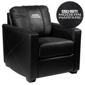 Silver Club Chair with Call of Duty Modern Warfare Stacked Logo