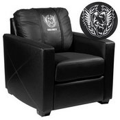 Silver Club Chair with Call of Duty Africanz Logo