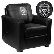 Silver Club Chair with Call of Duty Spetsnaz Logo