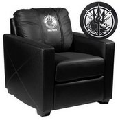 Silver Club Chair with Call of Duty JSOF Logo