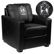Silver Club Chair with Call of Duty Demon Dogs Logo