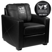 Silver Club Chair with Call of Duty Small Scale Faction Lock Up Logo