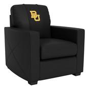 Silver Club Chair with Baylor Bears Logo