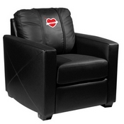 Silver Club Chair with 2019 Valentine's Day Logo Panel