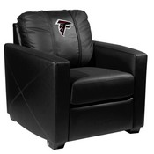 Silver Club Chair with Atlanta Falcons
