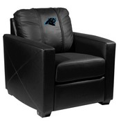 Silver Club Chair with Carolina Panthers