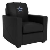 Silver Club Chair with Dallas Cowboys