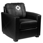 Silver Club Chair with Crosshairs Logo