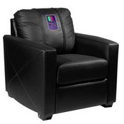 Silver Club Chair with Handheld System Logo