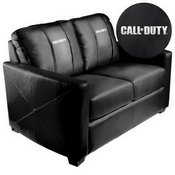 Silver Loveseat with Call of Duty Logo