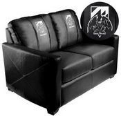 Silver Loveseat with Call of Duty Chimera Logo