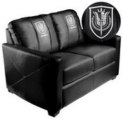 Silver Loveseat with Call of Duty UK SAS Logo
