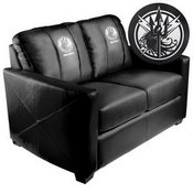Silver Loveseat with Call of Duty JSOF Logo