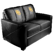 Silver Loveseat with Baylor Bears Logo