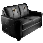 Silver Loveseat with San Diego Padres