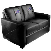 Silver Loveseat with Buffalo Bills