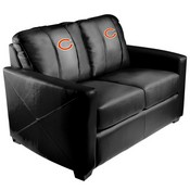 Silver Loveseat with Chicago Bears