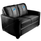 Silver Loveseat with Detroit Lions