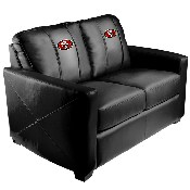 Silver Loveseat with San Francisco 49ers