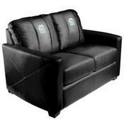 Silver Loveseat with Gift Logo Panel