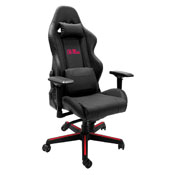 Xpression Gaming Chair with Mississippi Rebels Logo