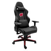 Xpression Gaming Chair with University of Wisconsin Badgers Logo Panel