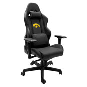 Xpression Gaming Chair with Iowa Hawkeyes Logo