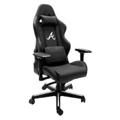 Xpression Gaming Chair with Atlanta Braves Secondary Logo