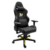 Xpression Gaming Chair with Oakland Athletics Logo