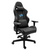 Xpression Gaming Chair with Detroit Lions