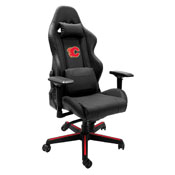 Xpression Gaming Chair with Calgary Flames Red Logo
