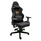 Xpression Gaming Chair with Chicago Blackhawks Logo