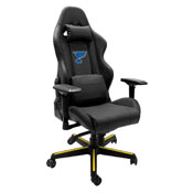 Xpression Gaming Chair with St. Louis Blues Logo
