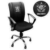Curve Task Chair with Call of Duty East Top Level Faction Logo