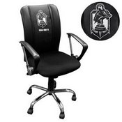 Curve Task Chair with Call of Duty Demon Dogs Logo