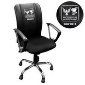 Curve Task Chair with Call of Duty Small Scale Faction Lock Up Logo