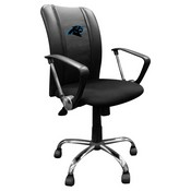 Curve Task Chair with Carolina Panthers